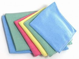 Набір серветок з мікрофібри 12 шт 4 кольора. MB140 - Фото