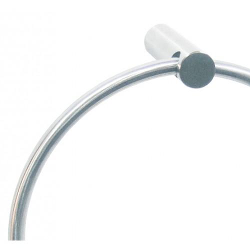 Держатель полотенец металлический круглый MEDINOX.  AI0110CS - Фото №2