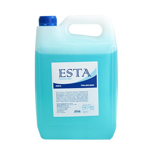 Гель для душа ESTA голубой 5л.  SG075000 - Фото №1