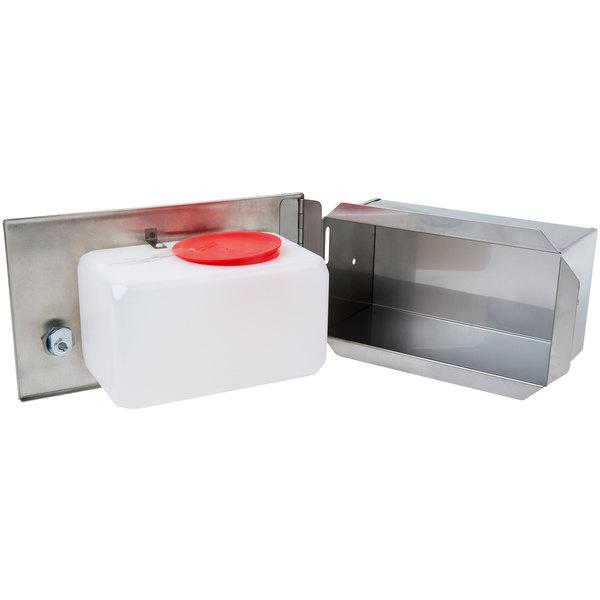 Дозатор жидкого мыла встраиваемый 1,3 л.  306 - Фото №3