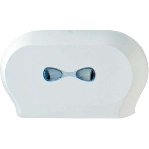 Тримач паперу туалетного JUMBO подвійний PLUS.  A77311 - Фото №1