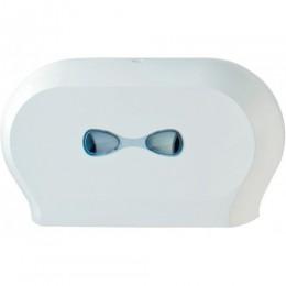Тримач паперу туалетного JUMBO подвійний PLUS.  A77311 - Фото