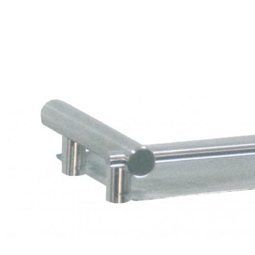 Полиця для ванної з нержавіючої сталі MEDINOX.  AI0060C - Фото №2