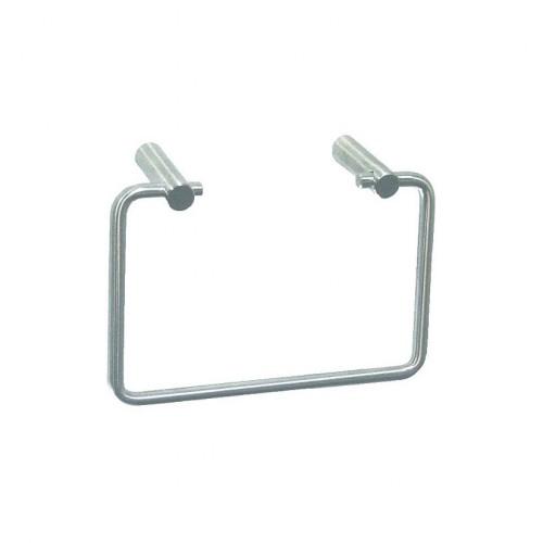 Тримач рушників металевий квадратний MEDINOX.  AI0090C - Фото №1
