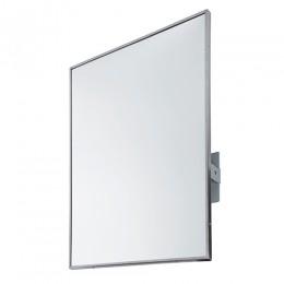 Дзеркало з окантовкою з нержавіючої сталі поворотне.  EP0300CS - Фото
