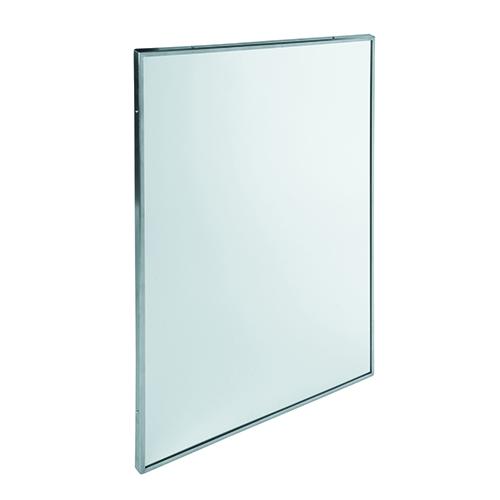 Дзеркало з окантовкою з нержавіючої сталі.  EP0350CS - Фото №1