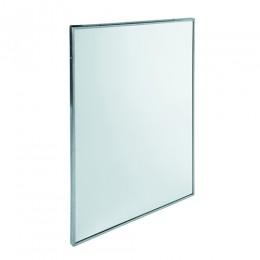 Зеркало с окантовкой из нержавеющей стали.  EP0350CS - Фото