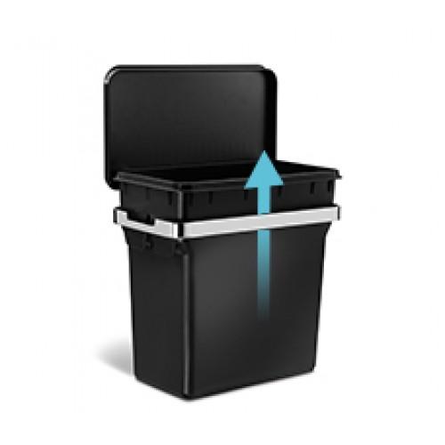 Урна для сміття навісна 10л.  CW1643 - Фото №5