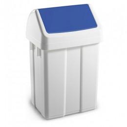 Урна для сміття з поворотною кришкою 12л.  00005224
