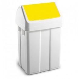 Урна для сміття з поворотною кришкою 12л.  00005223