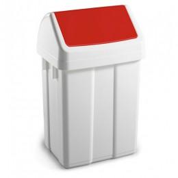 Урна для мусора с поворотной крышкой 25л MAXI.  00005201 - Фото