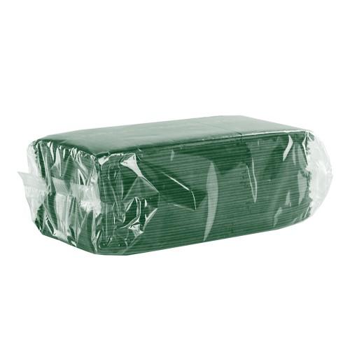 Серветки столові (куверти), зелені.  C18G - Фото №1