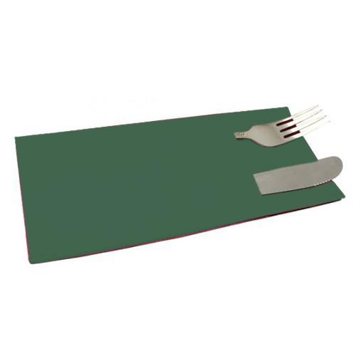 Серветки столові (куверти), зелені.  C18G - Фото №2