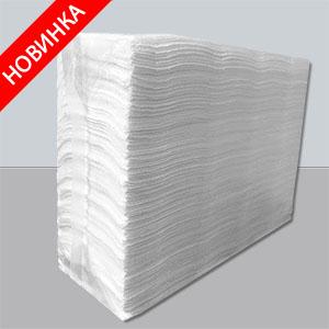 Бумажные полотенца листовые,  Z-укладка, целлюлозные. PRZ-160. - Фото №1