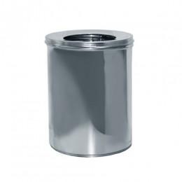 Урна для мусора 11л R-LINE с крышкой и держателем мешка.  M 811S