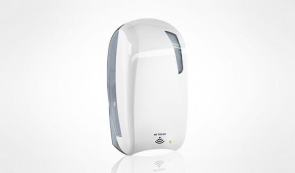 Дозатор дез. рідини автоматичний 1,2 л, білий/прозорий, пластик. A92810  - Фото №2
