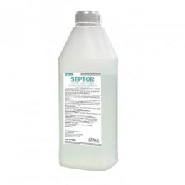 Засіб рідкий гігієнічний антибактеріальний для шкіри рук та тіла SEPTOR 900мл.  HS150900