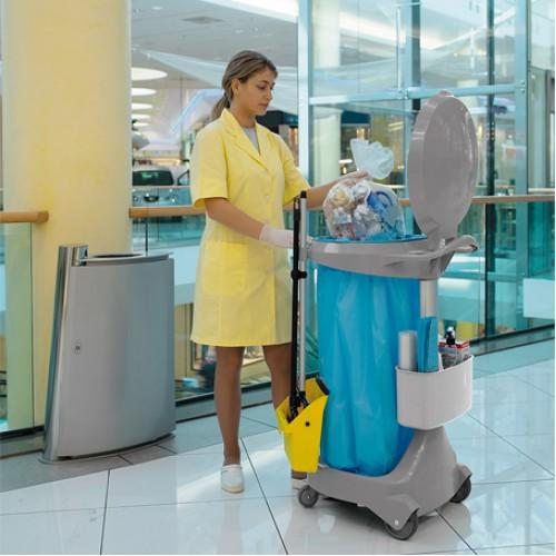 Контейнер відкритий для сміття 120л SMILE.  0E004665 - Фото №4