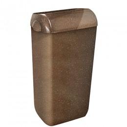 Урна для сміття 23л WOOD з кришкою та тримачем пакету для сміття.  A7424NWD - Фото