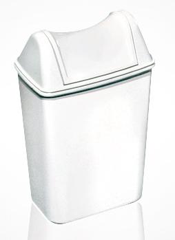 Урна для сміття з поворотною кришкою 8л ACQUALBA. A57901+ A58001 - Фото №1