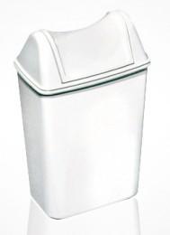 Урна для мусора с поворотной крышкой 8л ACQUALBA. 579+580. - Фото