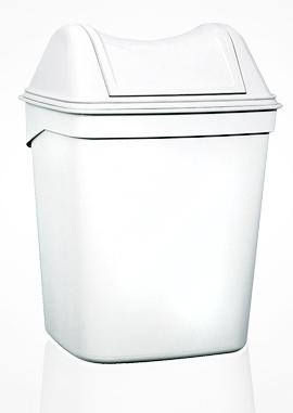 Урна для сміття з поворотною кришкою 8л ACQUALBA. A57901+ A58001 - Фото №2