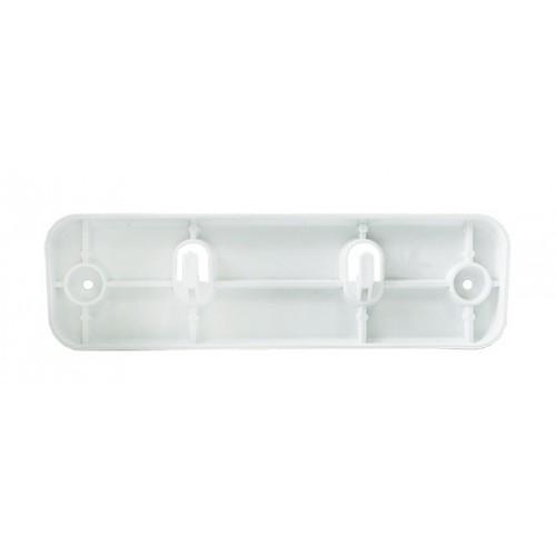 Урна для сміття 23л PRESTIGE, пластик білий. A74201 - Фото №3