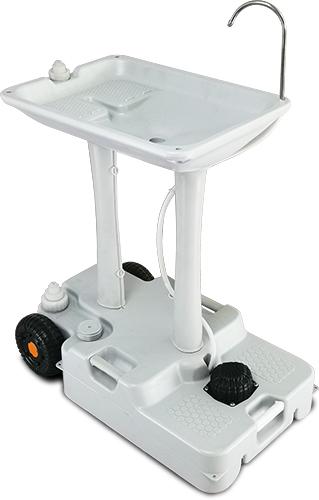 Портативный (автономный) мобильный умывальный стенд, рукомийник. CHH-7702 - Фото №1