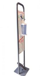 Стійка-тримач  з дозатором  для дезінфекції, 1000 мл.   AHN135  - Фото