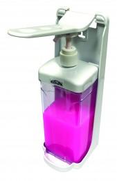 Дозатор дезінфікуючого засобу ліктьовий. 1 л. DSS130 - Фото