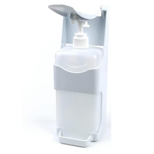 Дозатор для дезінфікуючого засобу ліктьовий 1л.  HNTAPRT - Фото №2