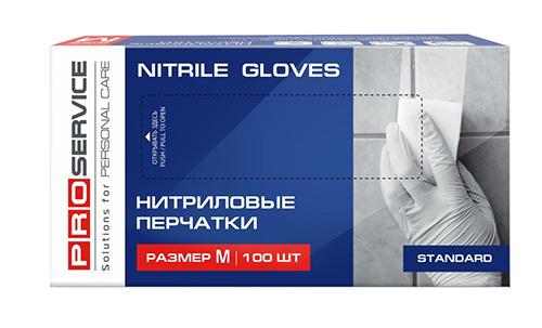 Рукавички нітрилові M. PRO, 100 шт. 17402420 - Фото №2