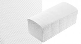 Паперові рушники Clean Point, рециклінг, одношарова, V 160 шт / пач. РПВР1.160я.0 - Фото