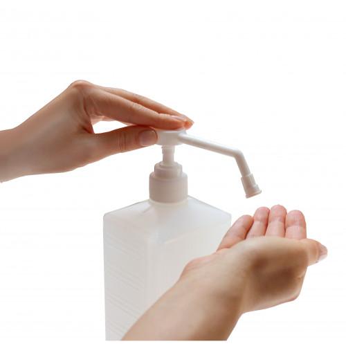 Засіб рідкий гігієнічний антибактеріальний для шкіри рук та тіла SEPTOR 950мл з розпилювачем.  HS150950D - Фото №2