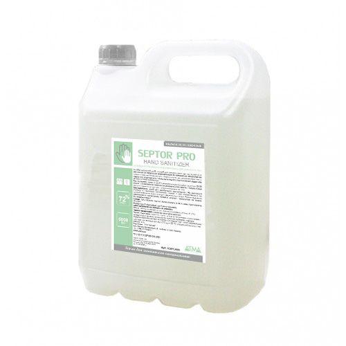 Засіб рідкий гігієнічний антибактеріальний для шкіри рук та тіла SEPTOR PRO 5л.  HS015000 - Фото №1