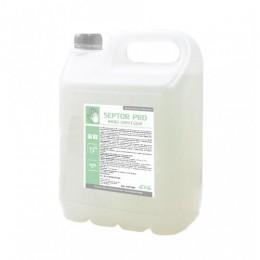 Засіб рідкий гігієнічний антибактеріальний для шкіри рук та тіла SEPTOR PRO 5л.  HS015000 - Фото