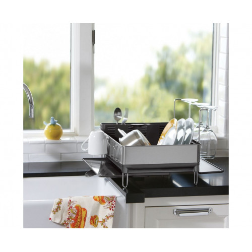 Тримач посуду і стаканів з піддоном.  KT1154 - Фото №5