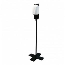 Стойка-держатель с автоматическим дозатором для дезинфекции 1,1л.  D0105Black - Фото