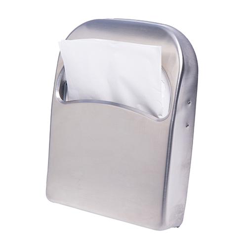 Тримач накладок на унітаз 1/4, нерж. метал, матовий. ZG-623S - Фото №4