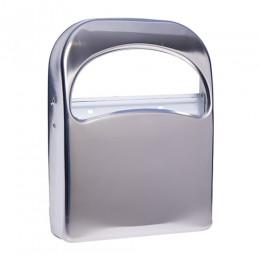 Тримач накладок на унітаз 1/4, нерж. метал, глянсовий. ZG-623C - Фото