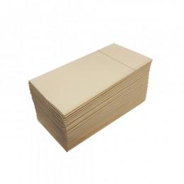 Салфетки столовые Pocket 1/8 двухслойные 40х40 (45 шт.) кремовые.  T2408T_VAN - Фото