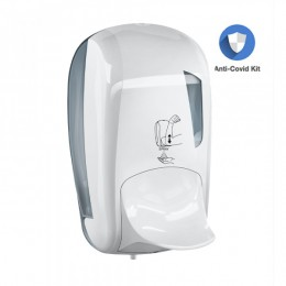 Дозатор для дезінфікуючого засобу ліктьовий Hospital 1 л LINEA SKIN.  A95201 - Фото