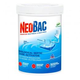 Активатор бактерій (біопрепарат) для септиків та очисних споруд для видалення запаху, NeoBac600 - Фото