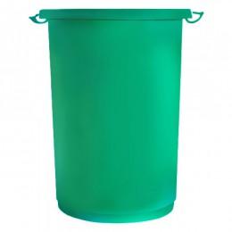 Урна для сміття 50л Push.  M852G - Фото