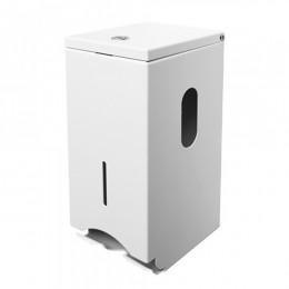 Держатель бумаги туалетной стандарт.  D452White - Фото