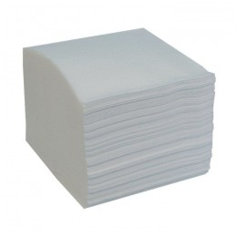 Туалетная бумага листовая, отбеленная, V - складка, 300 листов. ТП_v_restored - Фото