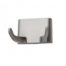 Крючок двойной Arino AE-302, хром полированный. 10533 - Фото