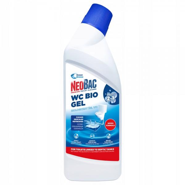 Екологічний биогель NeoBac 2в1 для унітазу 750  мл. NeoBac_WC - Фото №1