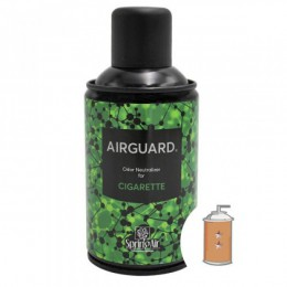 Нейтрализатор запахів Airguard балончик 250мл, Греція.  Cigarette - Фото