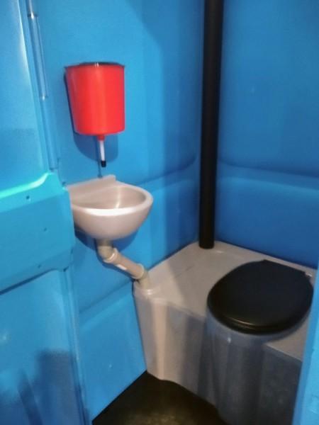 Кабінка туалетна ТКМ. - Фото №5